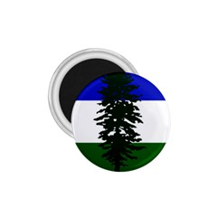 Flag Of Cascadia 1 75  Magnets by abbeyz71