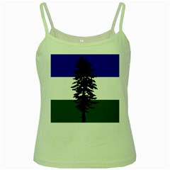 Flag Of Cascadia Green Spaghetti Tank by abbeyz71