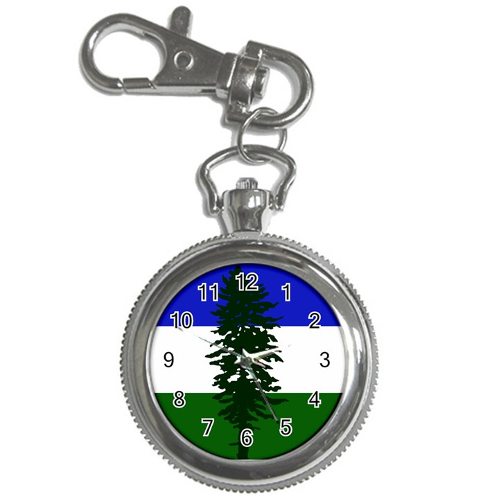 Flag of Cascadia Key Chain Watches