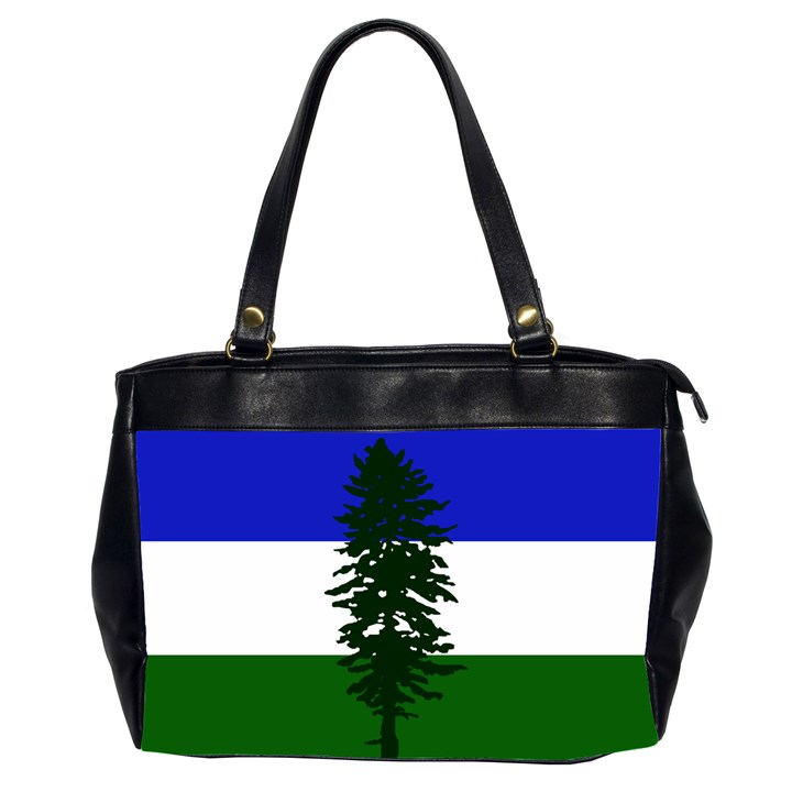 Flag of Cascadia Office Handbags (2 Sides)
