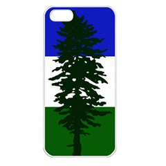 Flag Of Cascadia Apple Iphone 5 Seamless Case (white) by abbeyz71