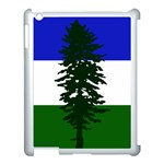 Flag of Cascadia Apple iPad 3/4 Case (White) Front