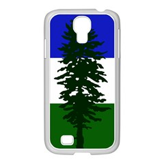 Flag Of Cascadia Samsung Galaxy S4 I9500/ I9505 Case (white) by abbeyz71