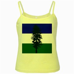 Flag Of Cascadia Yellow Spaghetti Tank by abbeyz71