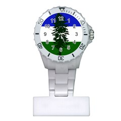 Flag Of Cascadia Plastic Nurses Watch by abbeyz71