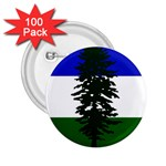 Flag of Cascadia 2.25  Buttons (100 pack)  Front