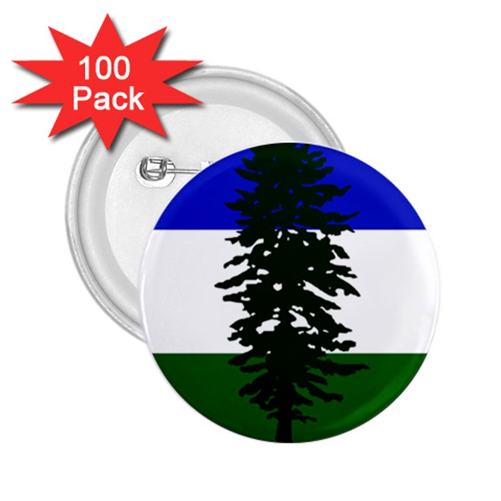Flag of Cascadia 2.25  Buttons (100 pack)