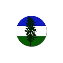 Flag Of Cascadia Golf Ball Marker by abbeyz71