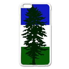 Flag Of Cascadia Apple Iphone 6 Plus/6s Plus Enamel White Case by abbeyz71