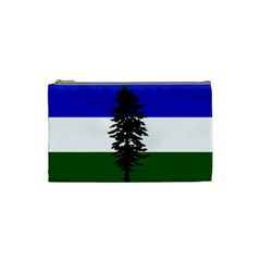 Flag Of Cascadia Cosmetic Bag (small)  by abbeyz71