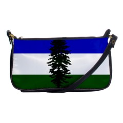 Flag Of Cascadia Shoulder Clutch Bags by abbeyz71