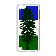 Flag Of Cascadia Apple Ipod Touch 5 Case (white) by abbeyz71