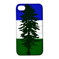Flag Of Cascadia Apple Iphone 4/4s Hardshell Case With Stand by abbeyz71
