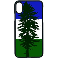 Flag Of Cascadia Apple Iphone X Seamless Case (black) by abbeyz71