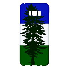 Flag Of Cascadia Samsung Galaxy S8 Plus Hardshell Case  by abbeyz71