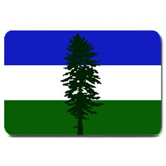 Flag Of Cascadia Large Doormat  by abbeyz71