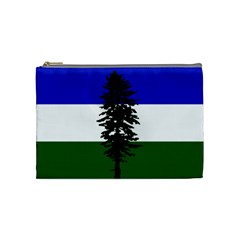 Flag Of Cascadia Cosmetic Bag (medium)  by abbeyz71