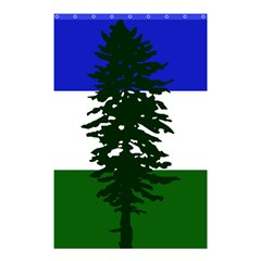 Flag Of Cascadia Shower Curtain 48  X 72  (small)  by abbeyz71