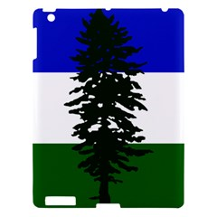 Flag Of Cascadia Apple Ipad 3/4 Hardshell Case by abbeyz71