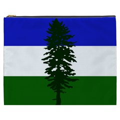 Flag Of Cascadia Cosmetic Bag (xxxl)  by abbeyz71