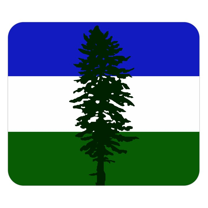 Flag of Cascadia Double Sided Flano Blanket (Small)