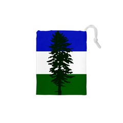 Flag Of Cascadia Drawstring Pouches (xs)  by abbeyz71