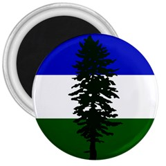 Flag 0f Cascadia 3  Magnets by abbeyz71