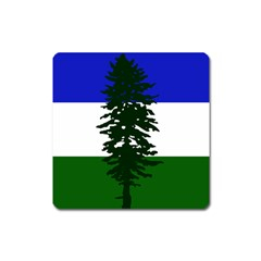 Flag 0f Cascadia Square Magnet by abbeyz71