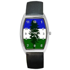 Flag 0f Cascadia Barrel Style Metal Watch by abbeyz71