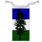 Flag 0f Cascadia Jewelry Bag Front