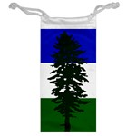 Flag 0f Cascadia Jewelry Bag Back