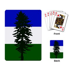 Flag 0f Cascadia Playing Card by abbeyz71