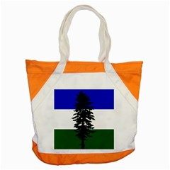 Flag 0f Cascadia Accent Tote Bag by abbeyz71