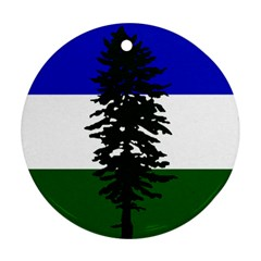 Flag 0f Cascadia Round Ornament (two Sides) by abbeyz71