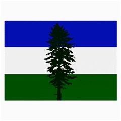 Flag 0f Cascadia Large Glasses Cloth (2 Side) by abbeyz71
