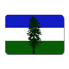 Flag 0f Cascadia Small Doormat  by abbeyz71