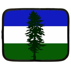 Flag 0f Cascadia Netbook Case (large) by abbeyz71