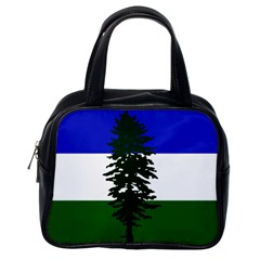 Flag 0f Cascadia Classic Handbags (one Side) by abbeyz71
