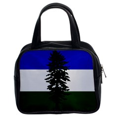Flag 0f Cascadia Classic Handbags (2 Sides) by abbeyz71