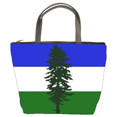 Flag 0f Cascadia Bucket Bags by abbeyz71