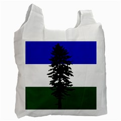 Flag 0f Cascadia Recycle Bag (two Side)  by abbeyz71