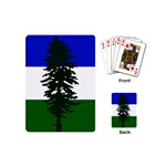 Flag 0f Cascadia Playing Cards (Mini)  Back