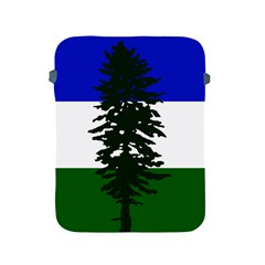 Flag 0f Cascadia Apple Ipad 2/3/4 Protective Soft Cases by abbeyz71