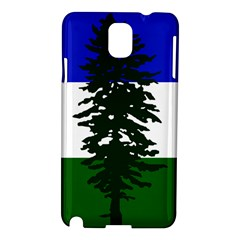 Flag 0f Cascadia Samsung Galaxy Note 3 N9005 Hardshell Case by abbeyz71
