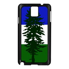 Flag 0f Cascadia Samsung Galaxy Note 3 N9005 Case (black) by abbeyz71