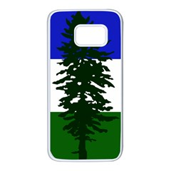 Flag 0f Cascadia Samsung Galaxy S7 White Seamless Case by abbeyz71