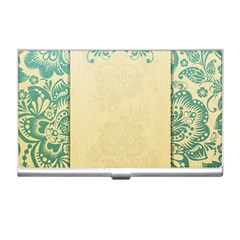 Art Nouveau Green Business Card Holders by 8fugoso