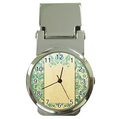 Art Nouveau Green Money Clip Watches by 8fugoso