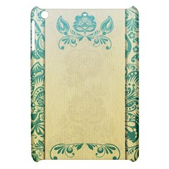 Art Nouveau Green Apple Ipad Mini Hardshell Case by 8fugoso