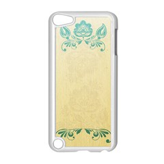 Art Nouveau Green Apple Ipod Touch 5 Case (white) by 8fugoso